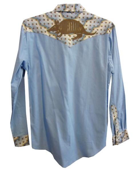 armadillo snap shirt