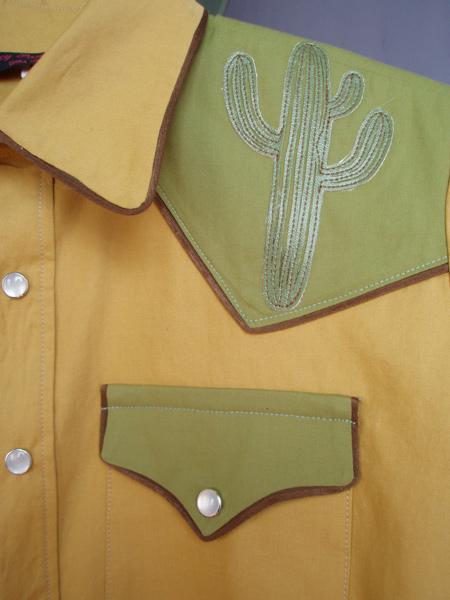 saguaro snap shirt