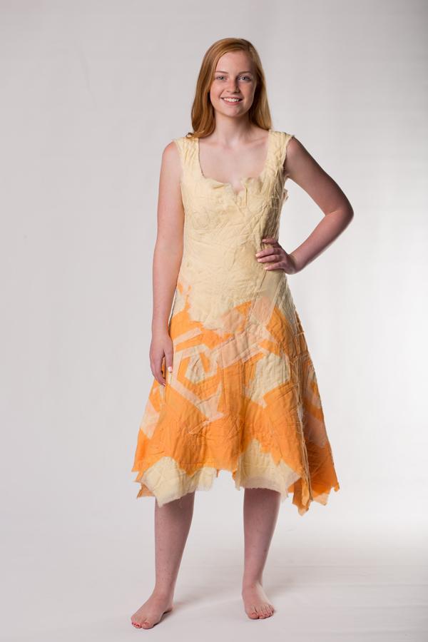 creamsicle bandage dress