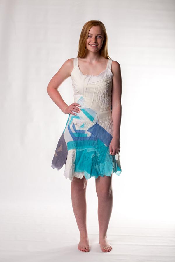 sky bandage dress