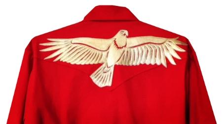 eagle snap shirt