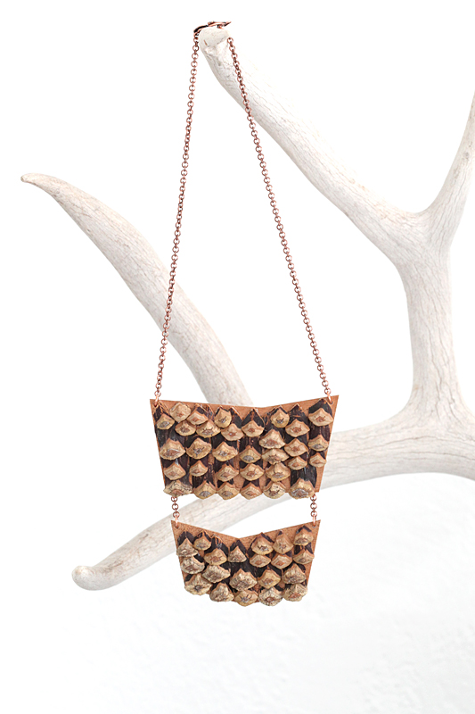 double pinecone shingle breastplate