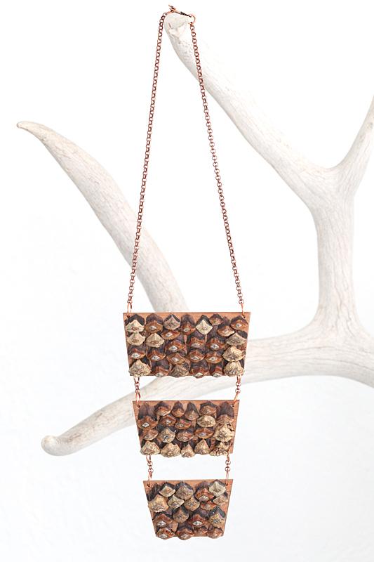 triple pinecone breastplate