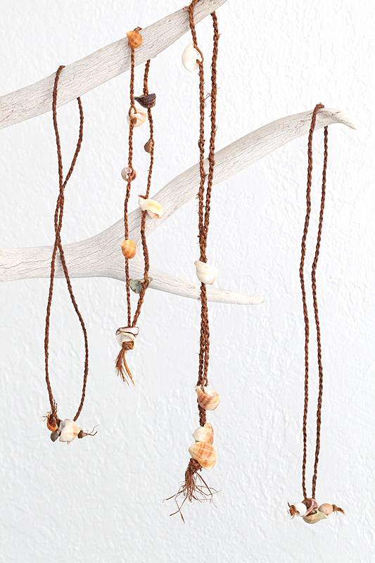 cedar cord necklaces