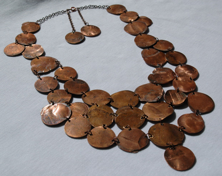 penny chainmail collar