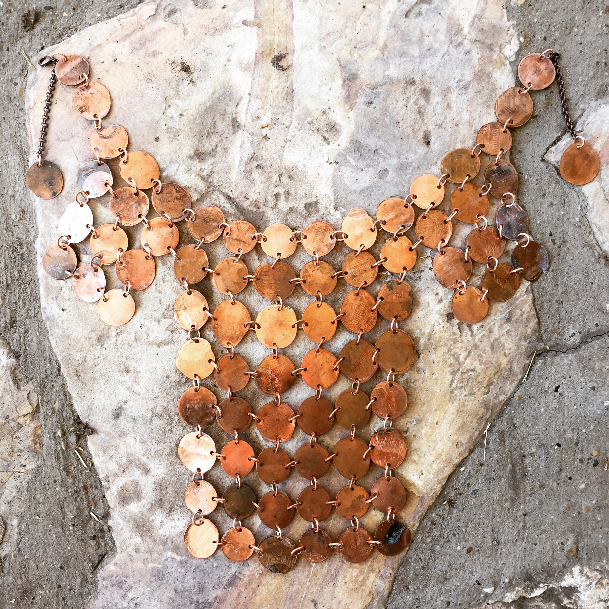 chainmail penny breastplate