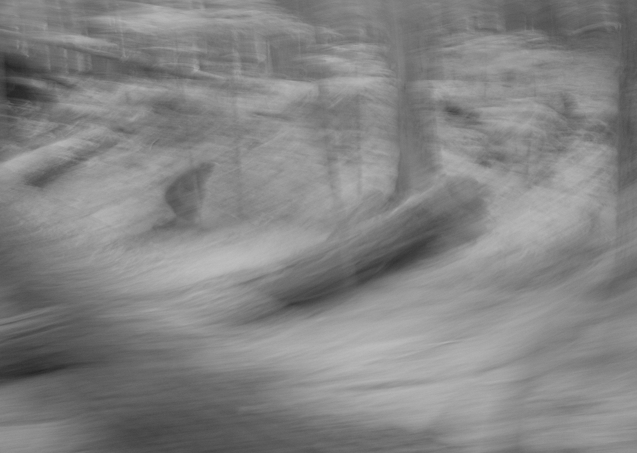 Sasquatch Sighting, Snow
