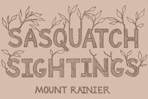Sasquatch Sightings postcards
