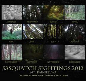 Sasquatch Sightings calendar