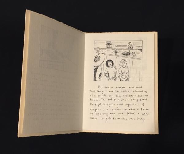 Peg book original handmade book, 1994