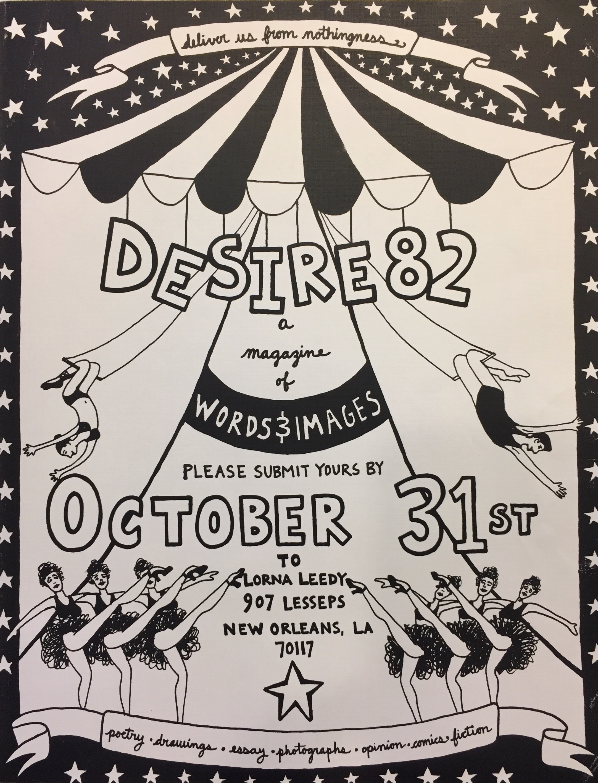 Desire 82 flyer