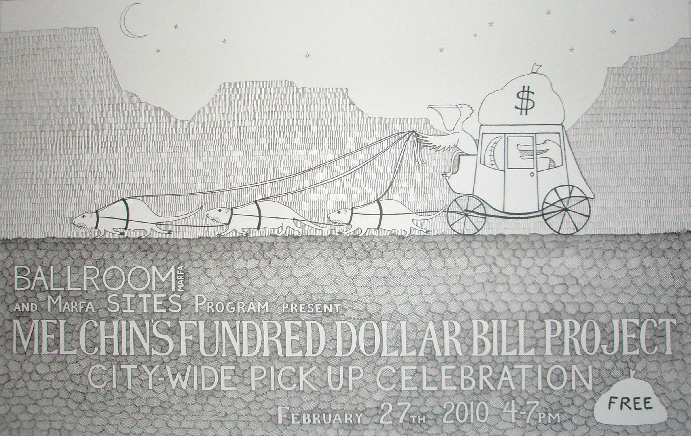 Mel Chin's Fundred Dollar Bill Project