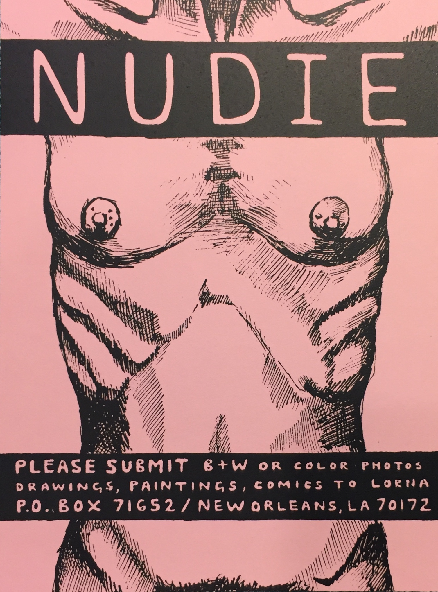 Nudie flyer