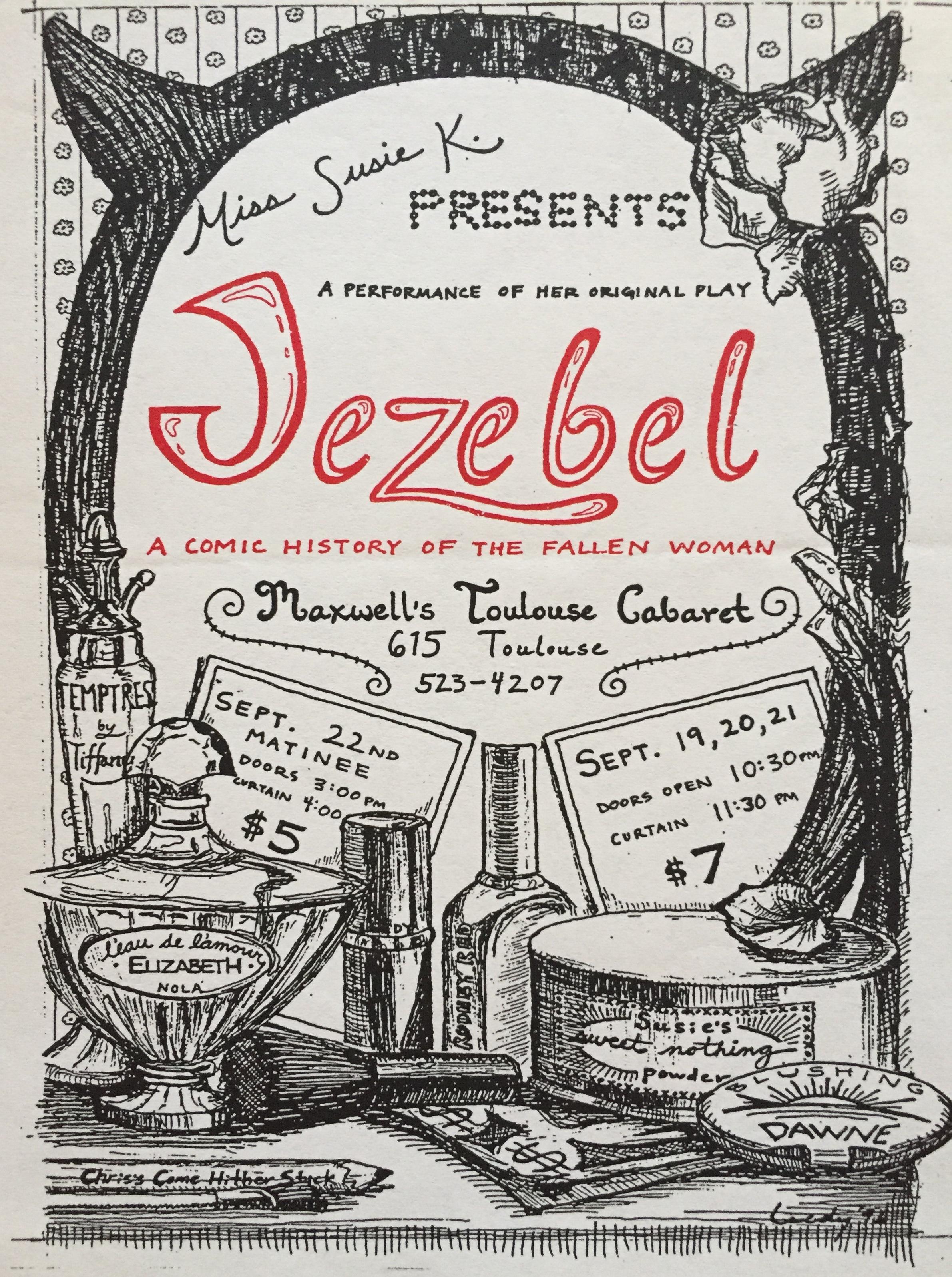 Jezebel flyer