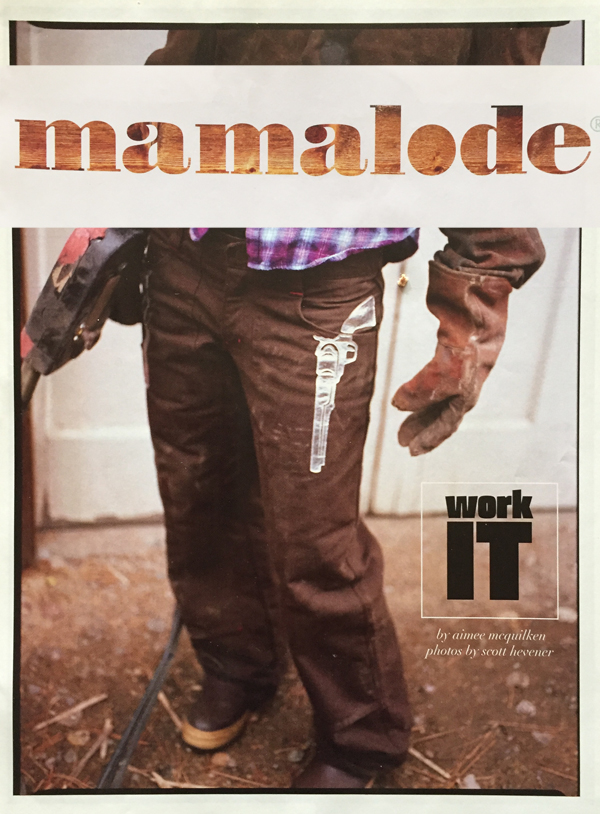gun jeans in mamalode magazine