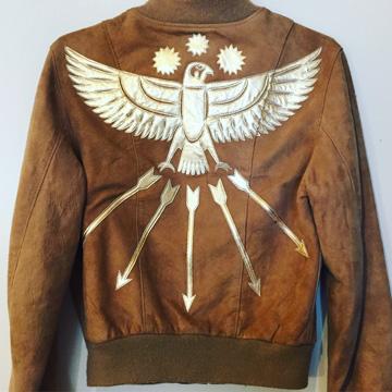 thunderbird and arrows jacket