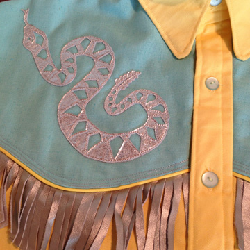 rattlesnake shirt
