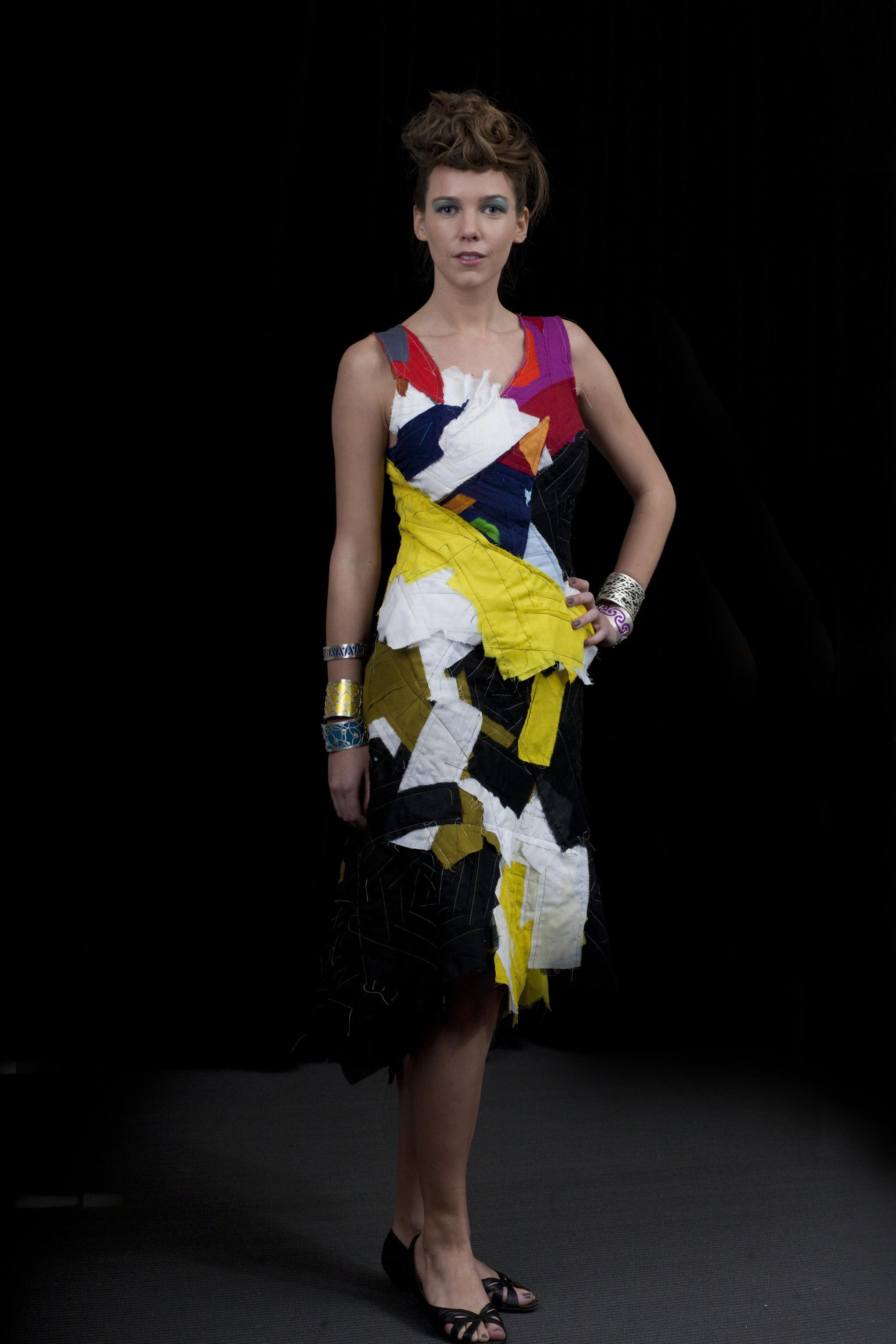 Modern bandage dress