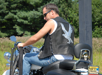 custom motorcycle vest