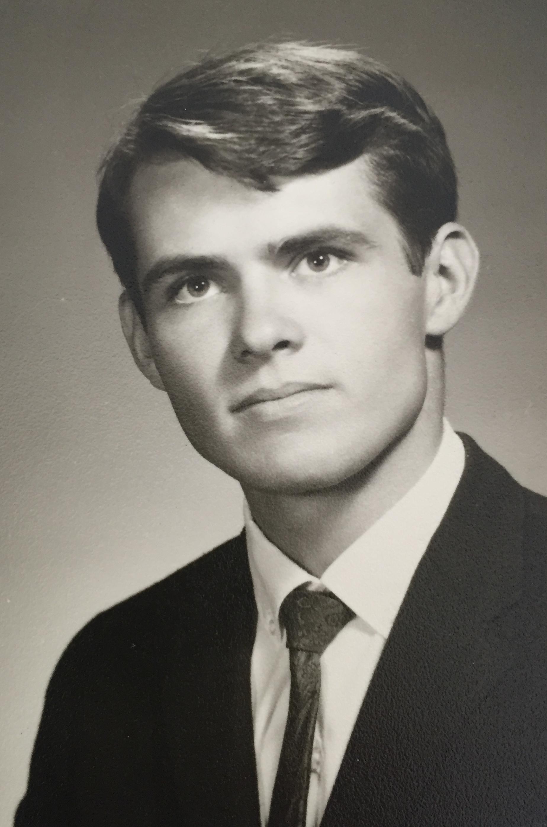 Dad, senior picture