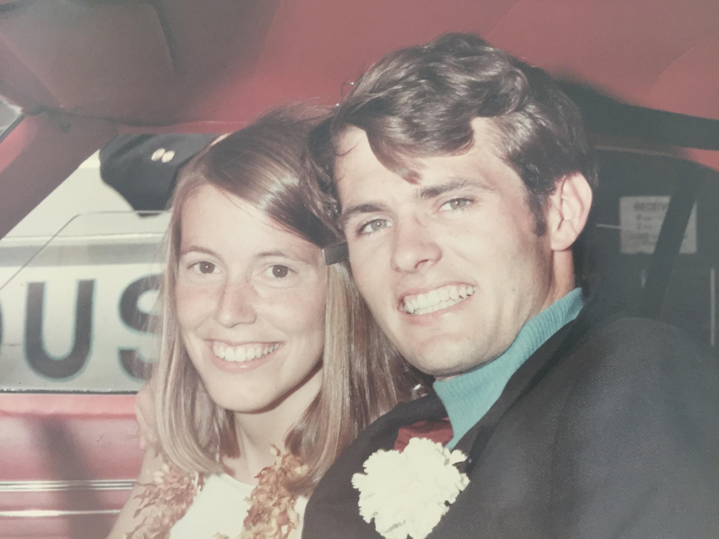 Mom & Dad on their wedding day