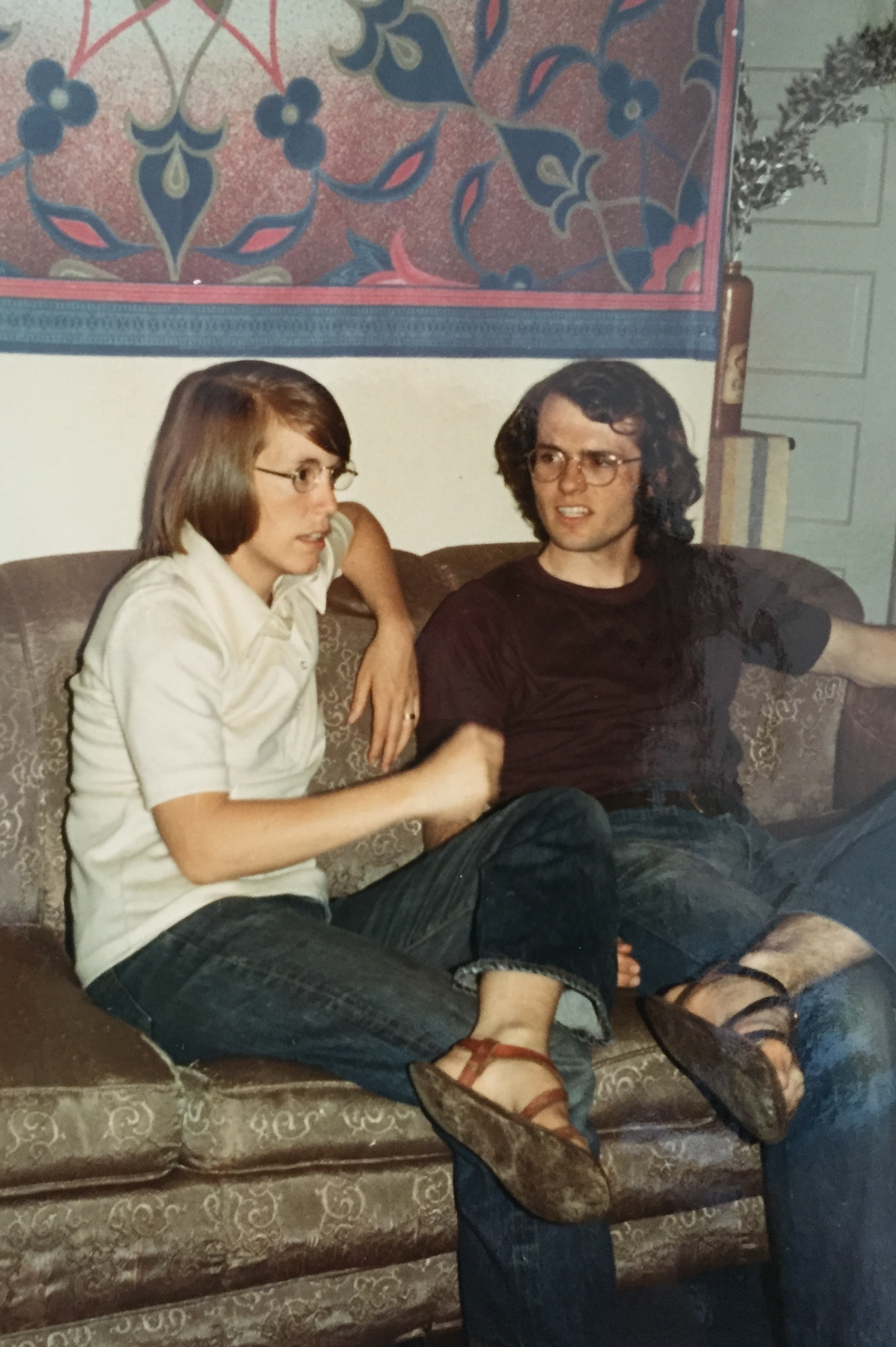 Mom & Dad as earnest 70s intellectuals