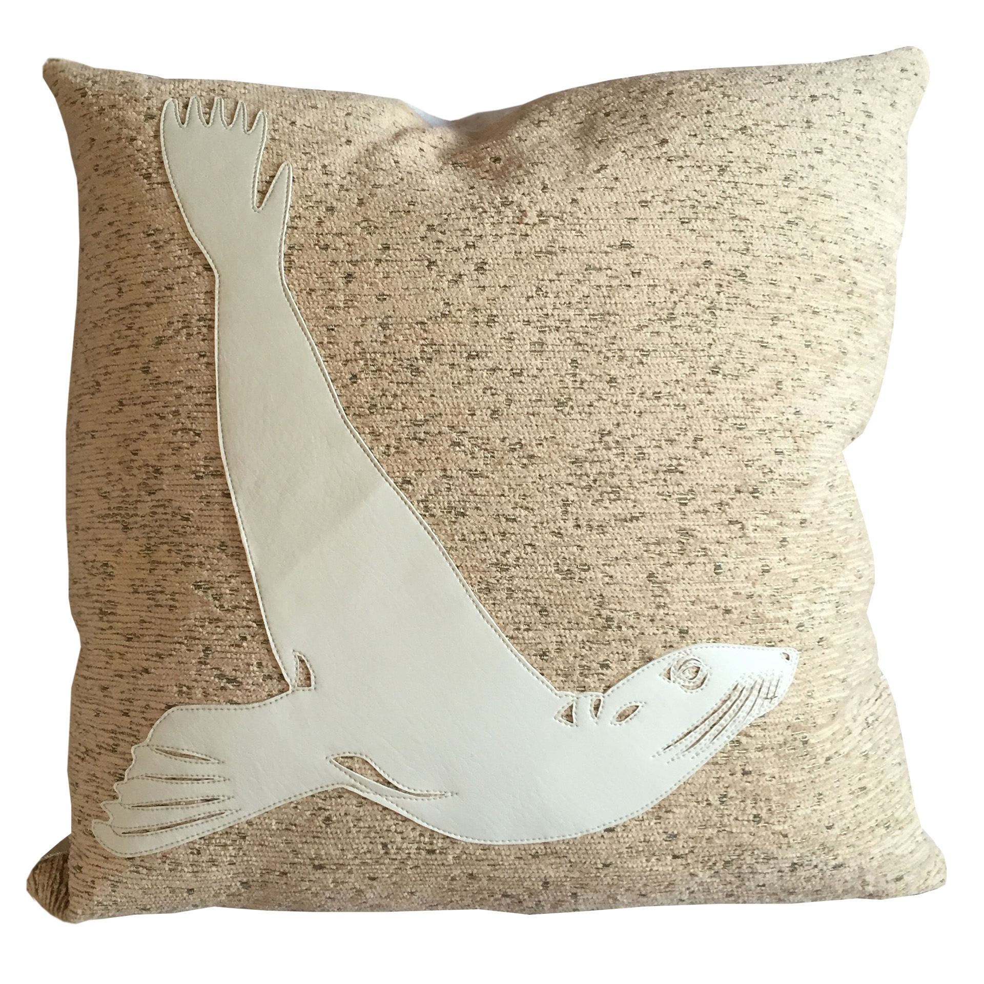 sea lion cushion 1