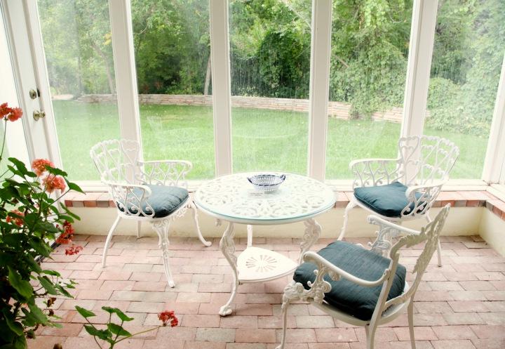 Wyeth House sunroom.