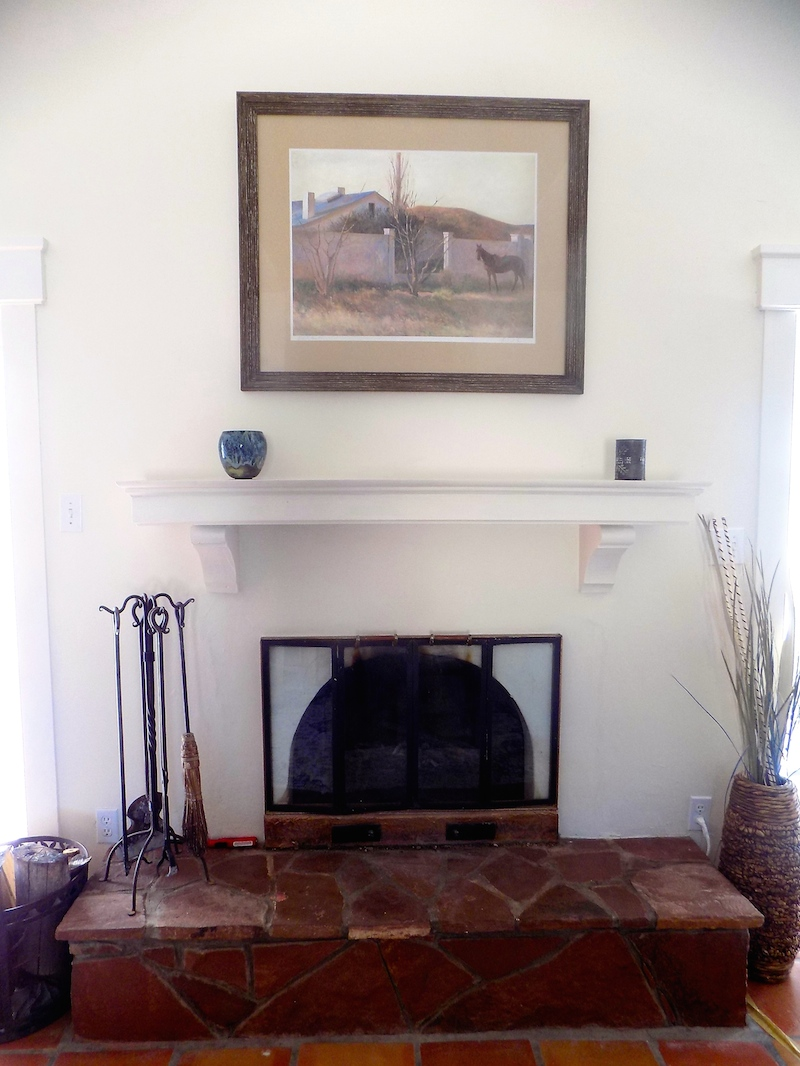 Helenita Fireplace in Master Bedroom