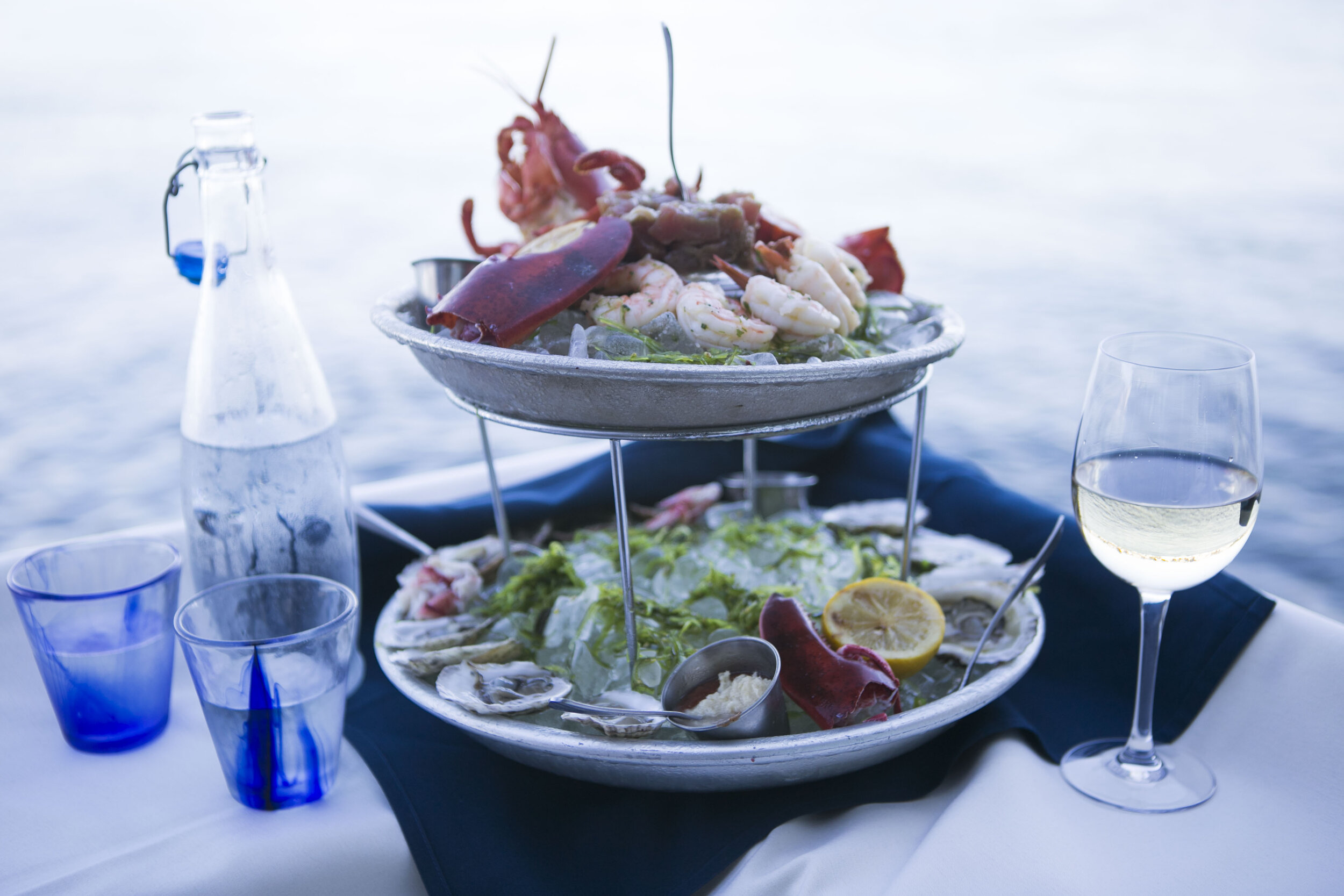 seafood tower with wine and bottled water.2 (1).jpg