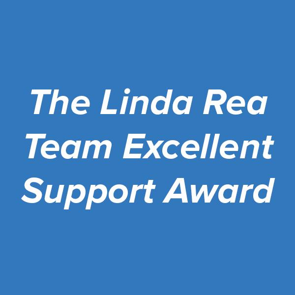The Linda Rea Team Excellent Support Award.jpg