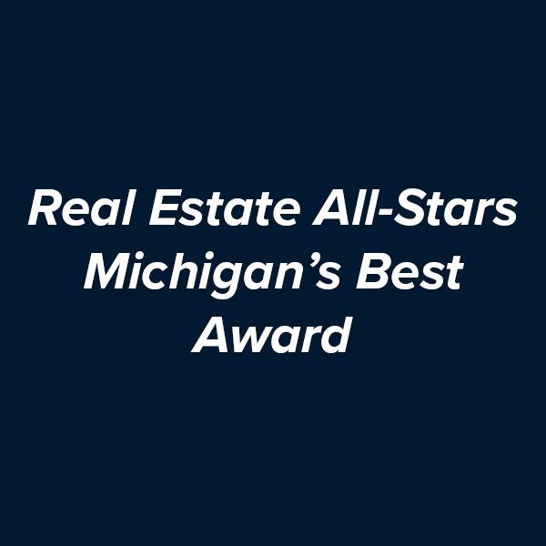 Real Estate All-Stars Michigan's Best Award  .jpg