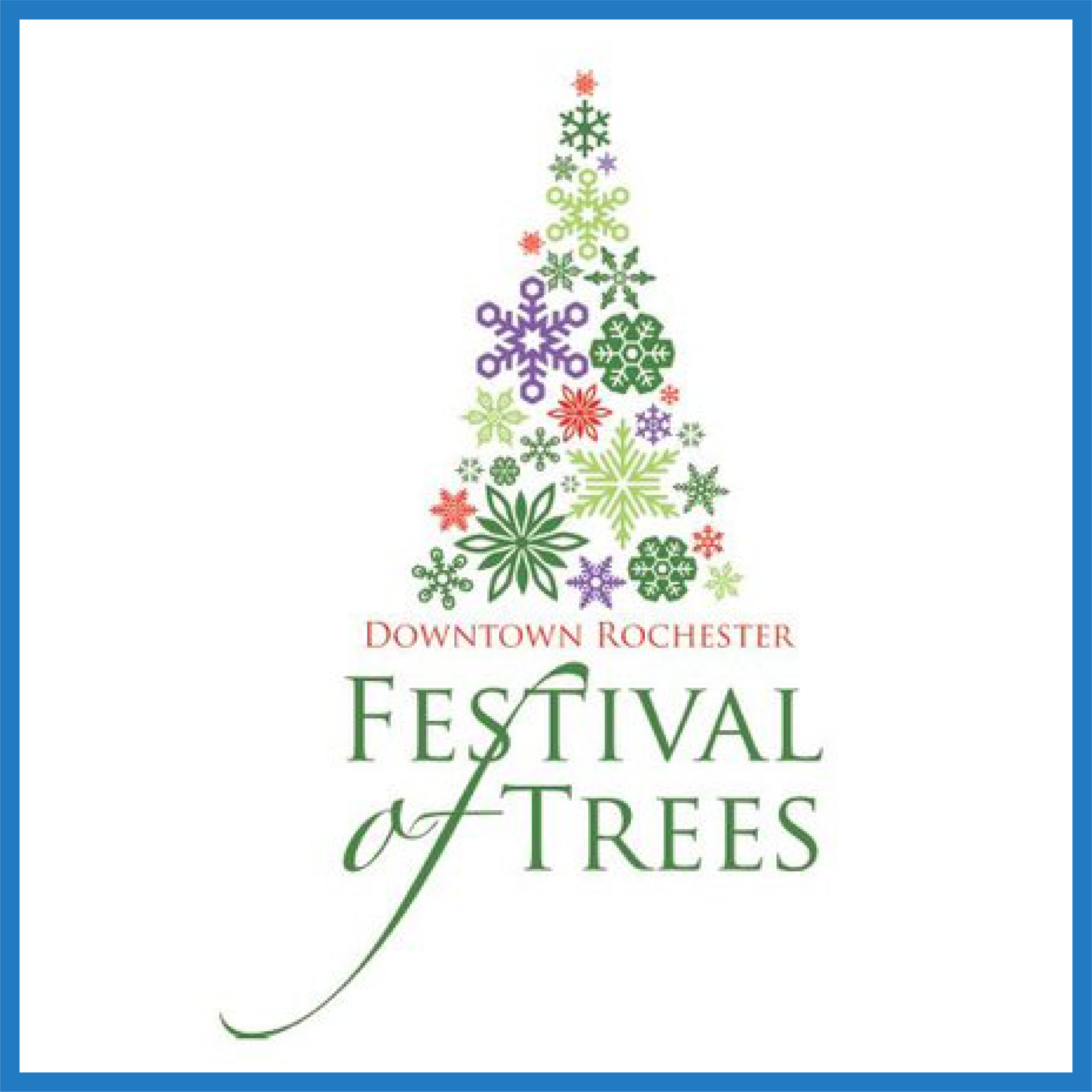 Downtown Rochester Festival of Trees -