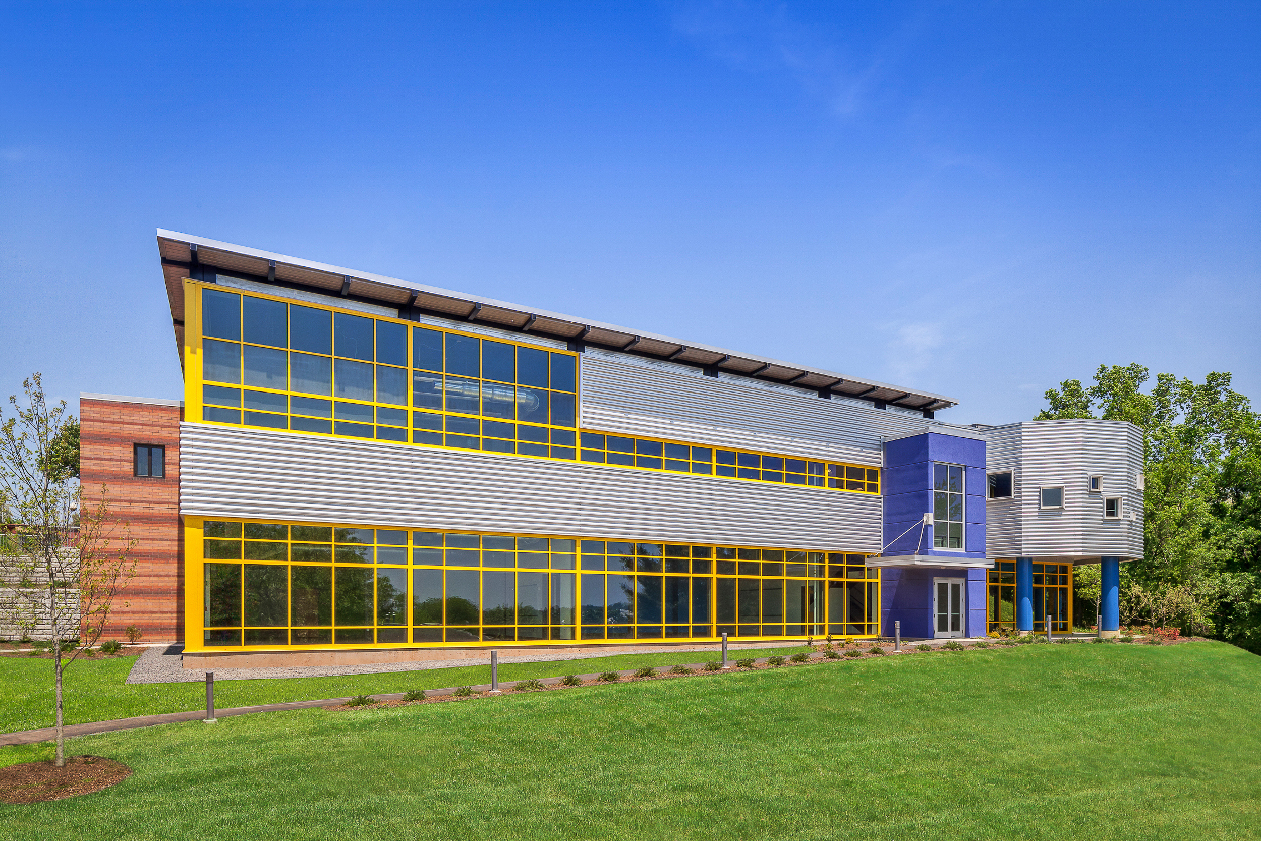 New Britain Community Education Center, New Britain, CT.  Architectural design by Quisenberry Arcari Malik Architects.