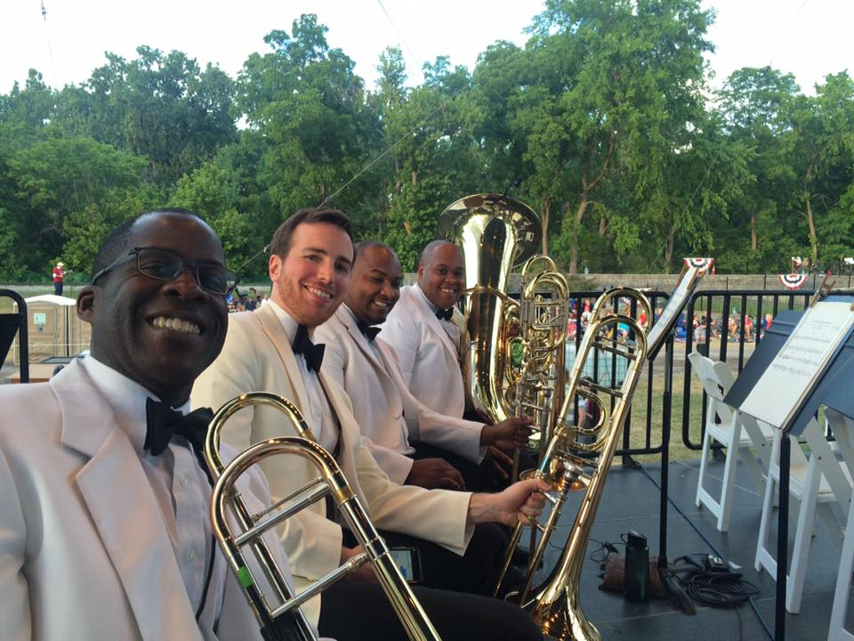 Detroit Symphony's annual July visit to Greenfield Village, with Kenneth Thompkins, Chris Davis, and Jason Tanksley