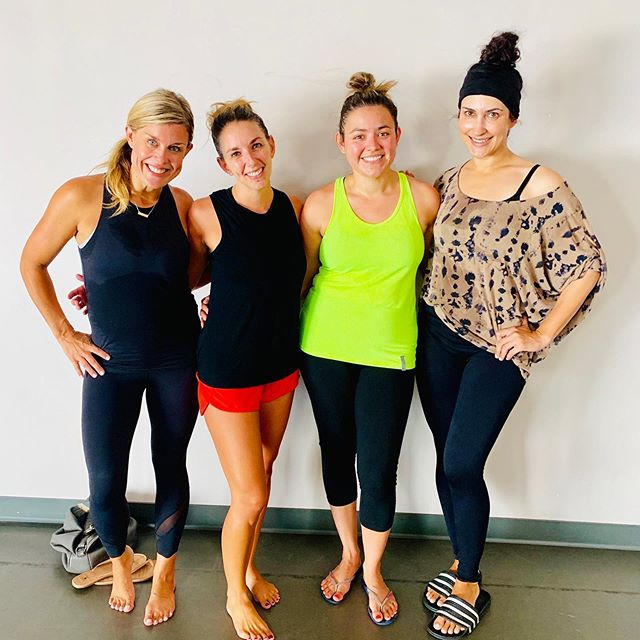 SLAY ••• These ladies slayed it today by taking both 9am Barre 60 AND 10:15am Interval. 💪🏼 It's not too late to sign up for our Back To School, Back To You 30 Day Challenge. Most classes taken in 30 days wins a free month of class. Get back into a regular routine and recommit to a healthier you!