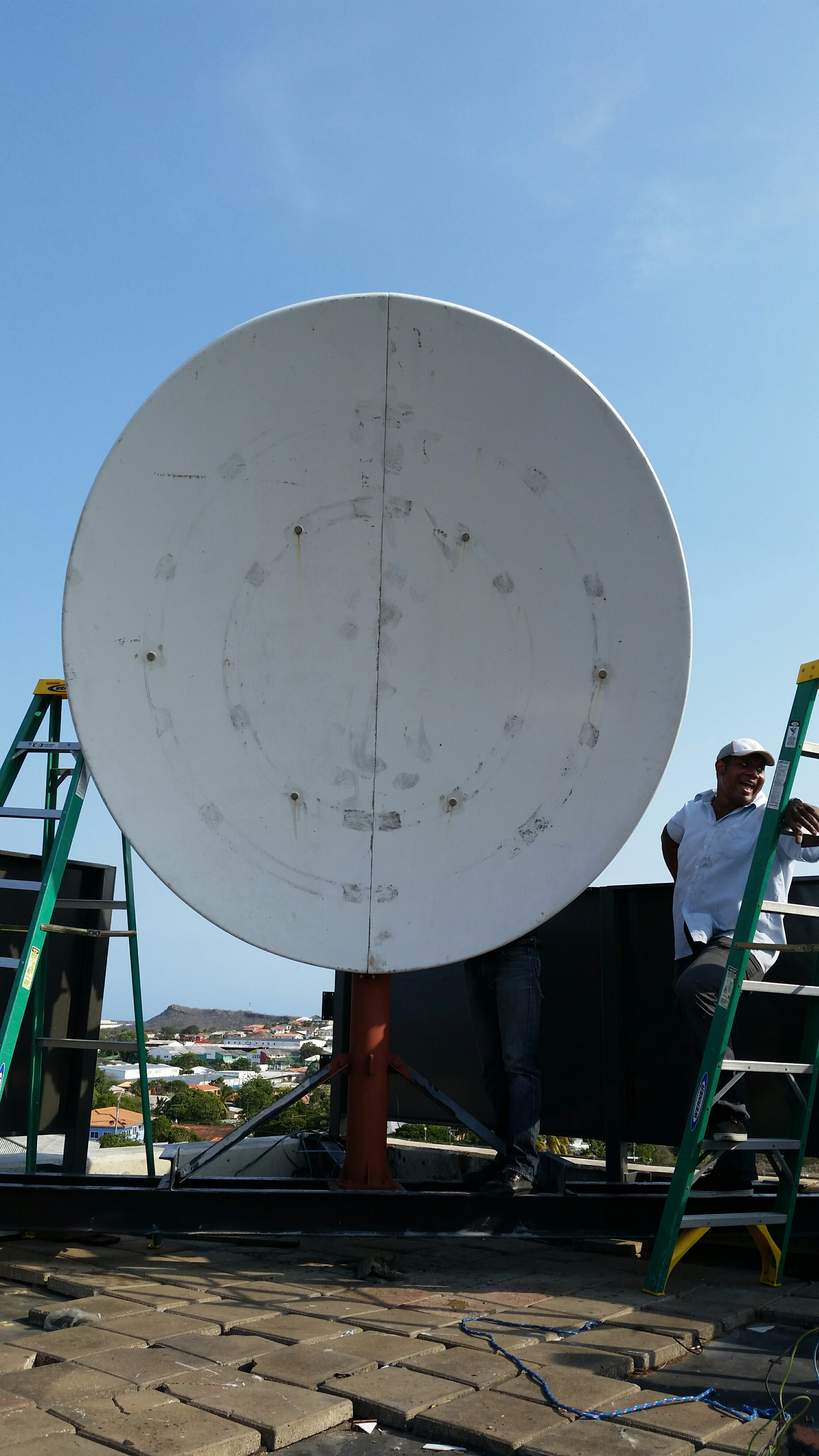 CURACAO   // Mast extension