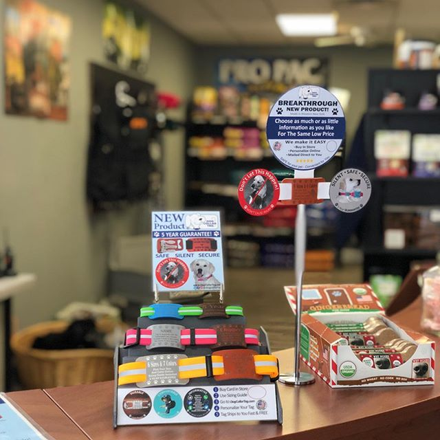 Our tags are available in stores!! Swing by Ace-Absolute Canine Experience, with some of the nicest staff choose Ace for your canine needs!! 👍👌👀👀 . . . . . . . . . #puppy #dogoftheday #puppies #petsofinstagram #doggos #doggo #pup #puppiesofinstagram #dogsofinstagram #dog #doggy #doge #comfortable #dogstores #cute #tags #petsupplies #cool #durable #soft #dogstagram #dogs #dogsledding #pups #amazing #fun #cutedogs