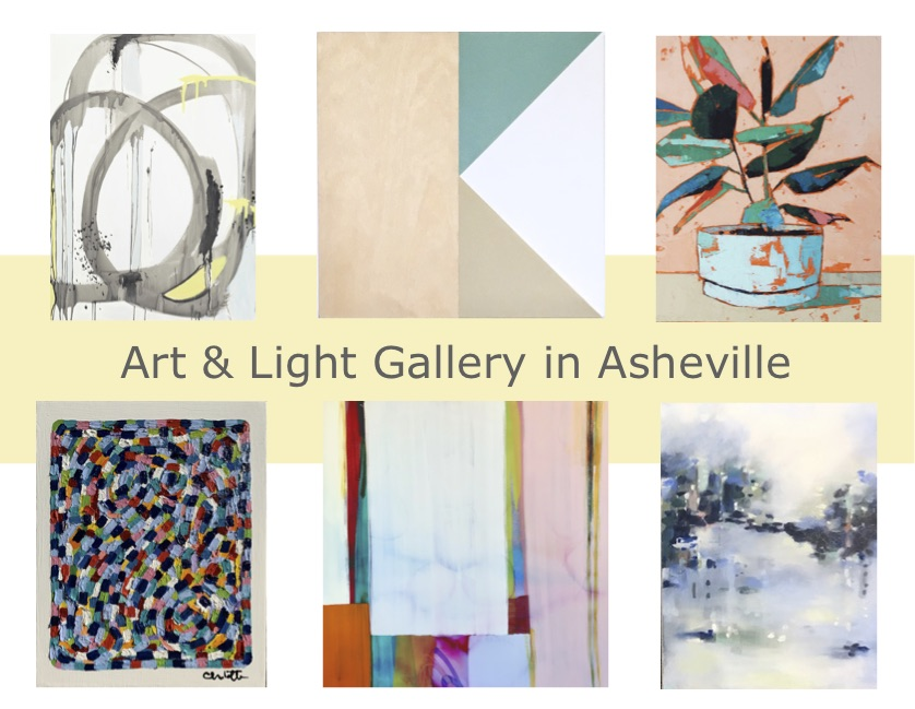A small sampling of some of the work headed to Asheville this week!