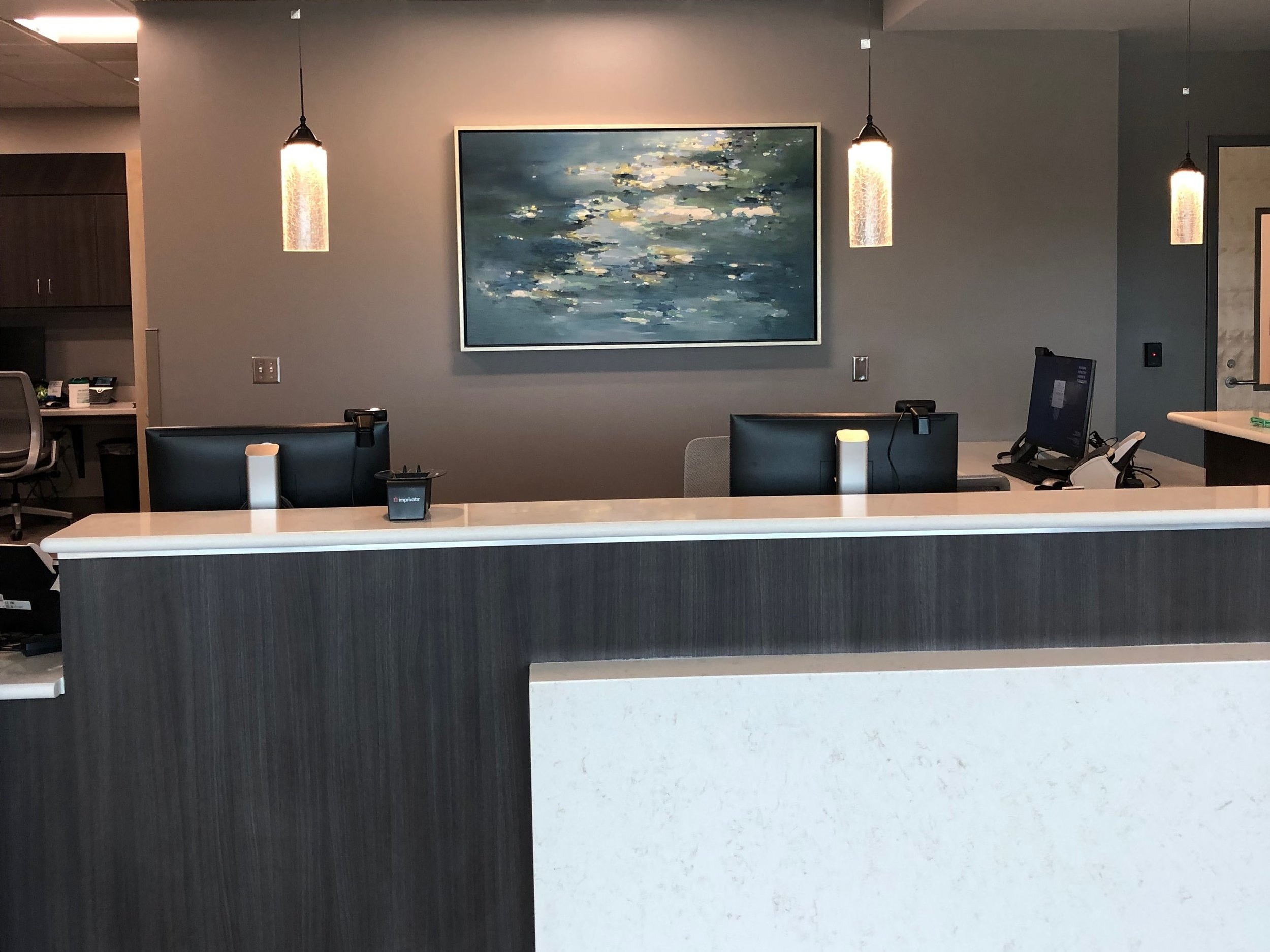 Beautifying Healthcare. - Often healthcare can feel cold and sterile, but if the right amount of warmth and intention are added, you have a beautiful and comfortable space.Spartanburg Regional Hospital CollectionSpartanburg, SC