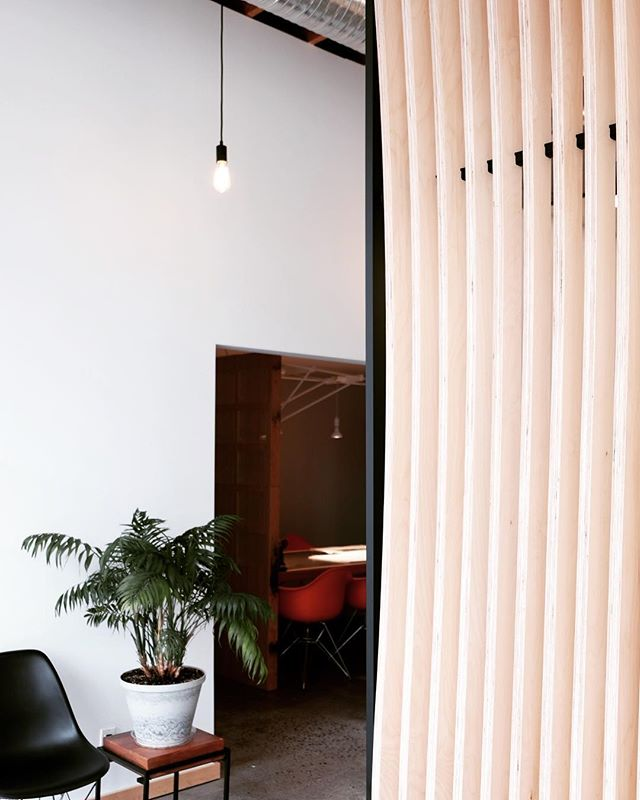 entryway privacy screen for @buro47architecture // we couldn't have asked for a smoother install yesterday, a precise and beautiful frame from @birdmanthewelder and custom mounting hardware from @axbot makes our job breezy // more 📸 to come, we're mildly obsessed with this one  #coworking #comaking #architecture #design #studio #designer #entrepreneur#entrepreneurship#startup #digitalfabrication# 5axis #cnc#productdesign #furnituredesign#furniture #minimalism #minimalist #minimal #collaboration #collaborative#woodworking#woodshop #maker#makersgonnamake#makerspace #makersmovement #craft #wood #interiordesign #vancouverisawesome