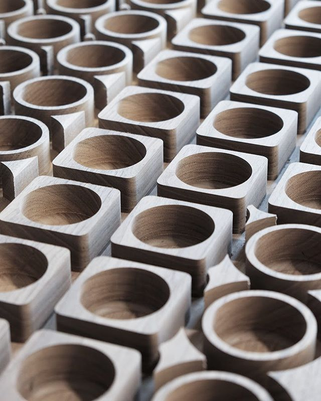 Batch Production Run 001 for @shrapneldesign // there is something incredibly satisfying in seeing a clients product move from prototype to market ready production // contact us to learn more about our CNC machining, small batch manufacturing, or product design & optimization services . . . . .  #design #furnituredesign#furniture #minimalism #minimalist #minimal #contemporary #contemporarydesign #architecture #studio #designer #entrepreneur#entrepreneurship#manufacturing #digitalfabrication#5axis #cnc#productdesign #collaboration #collaborative#woodworking #woodshop #woodworker #maker #craft #wood #interiordesign #pnw #madeinbc