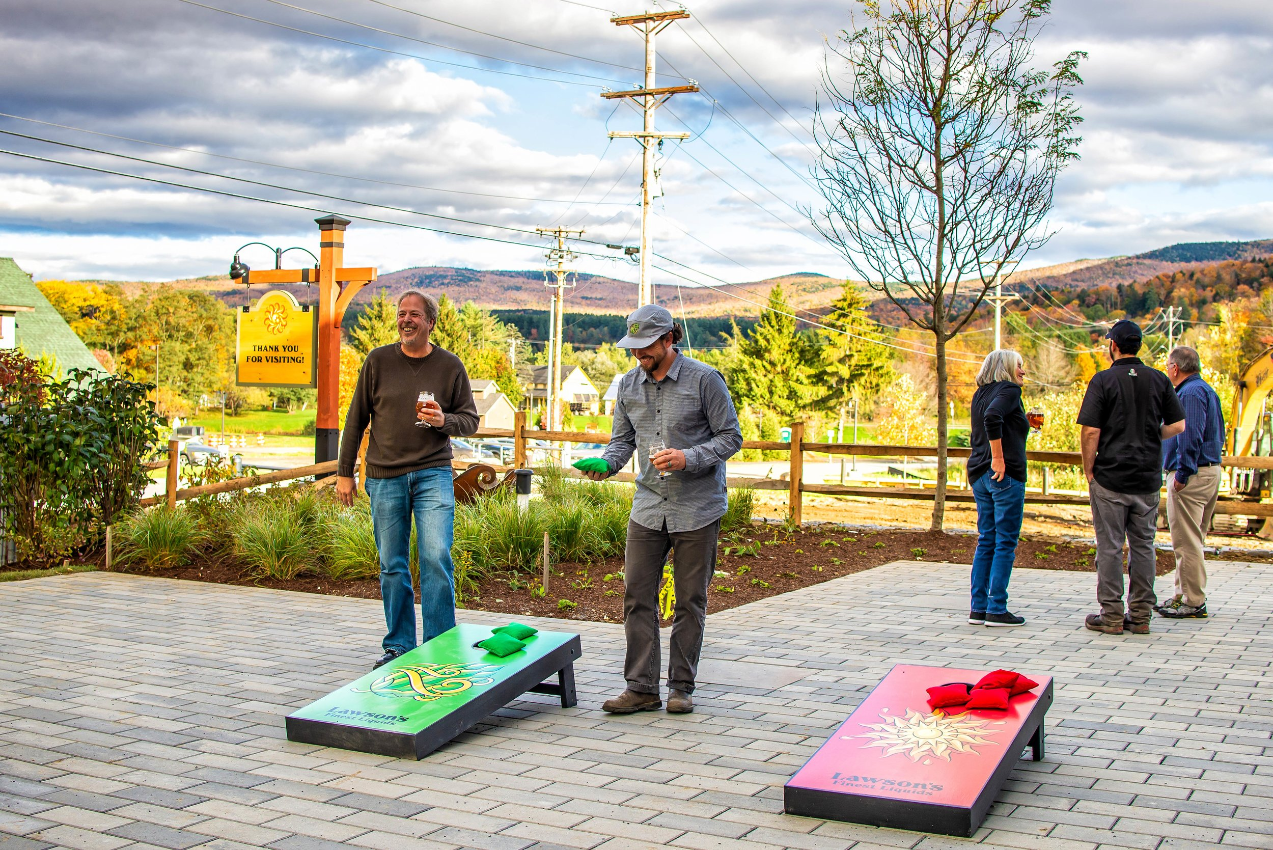 lawsons finest taproom waitsfield cornhole.jpg
