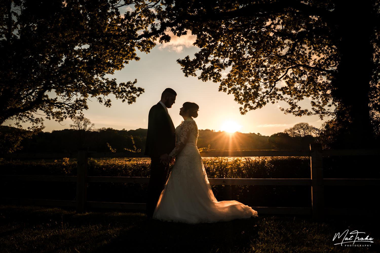 White Hart Inn - Moorwood Moor, Alfreton Sunset