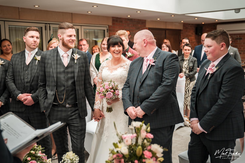 White Hart Inn Wedding Ceremony - Alfreton