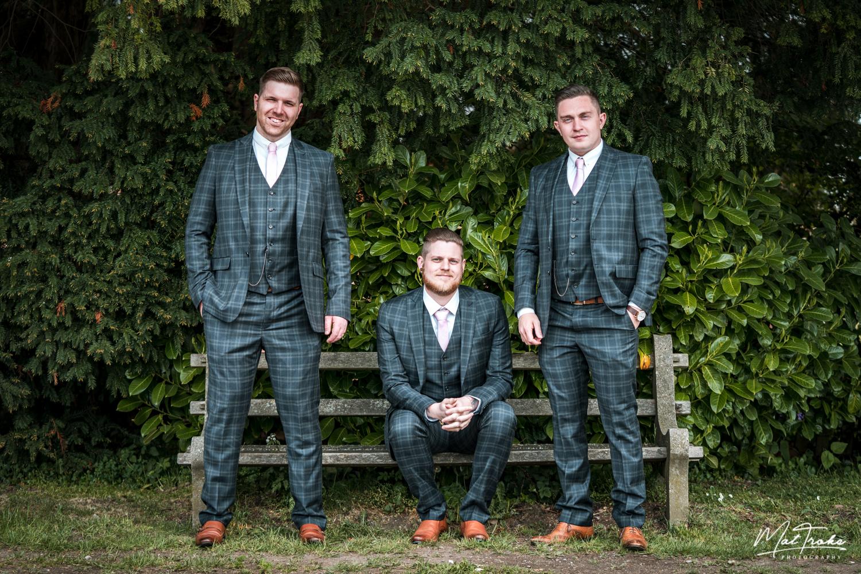 White Hart Inn Wedding - Broomsmen