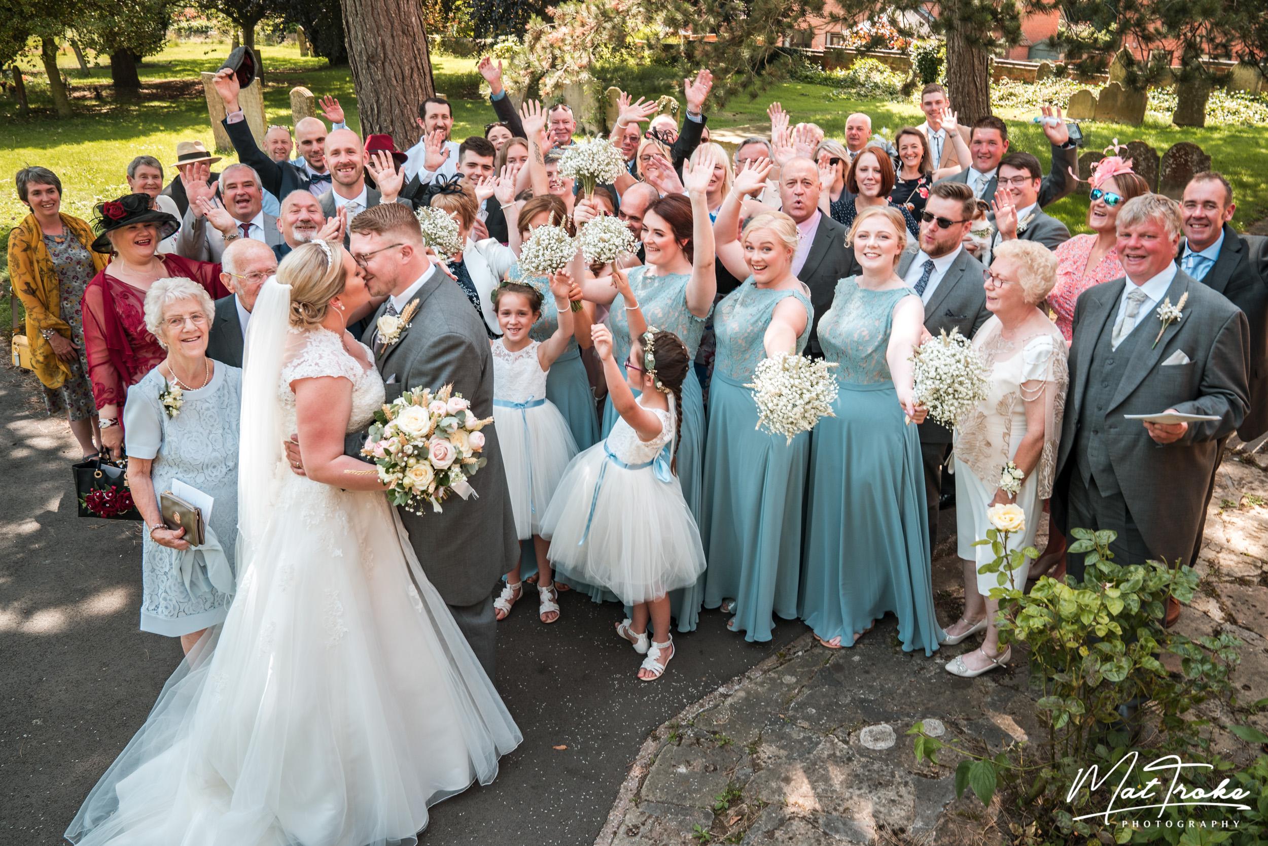 Farnsfield Church Wedding - Nottingham