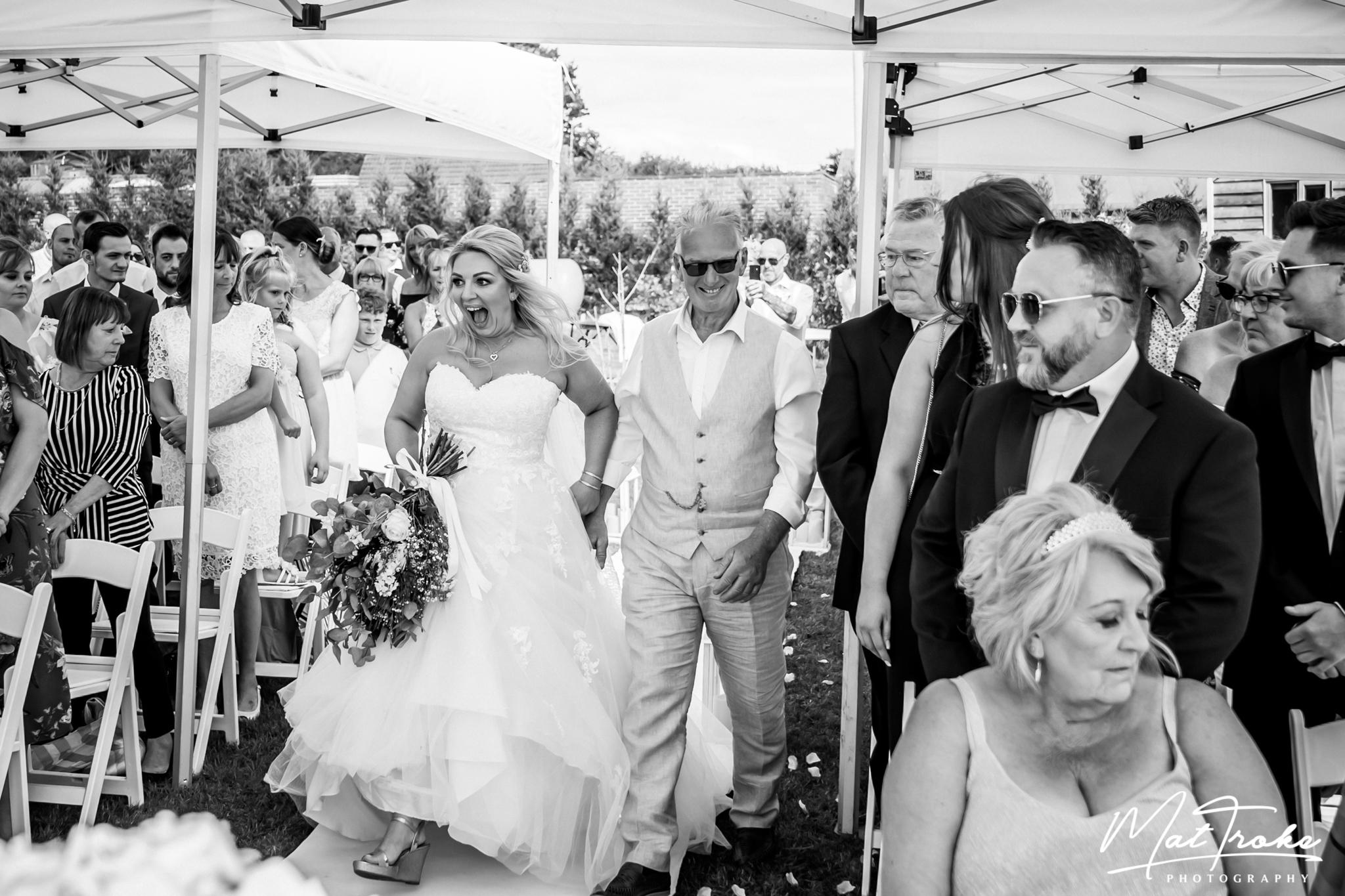 Fairview Farm Wedding, Nottingham