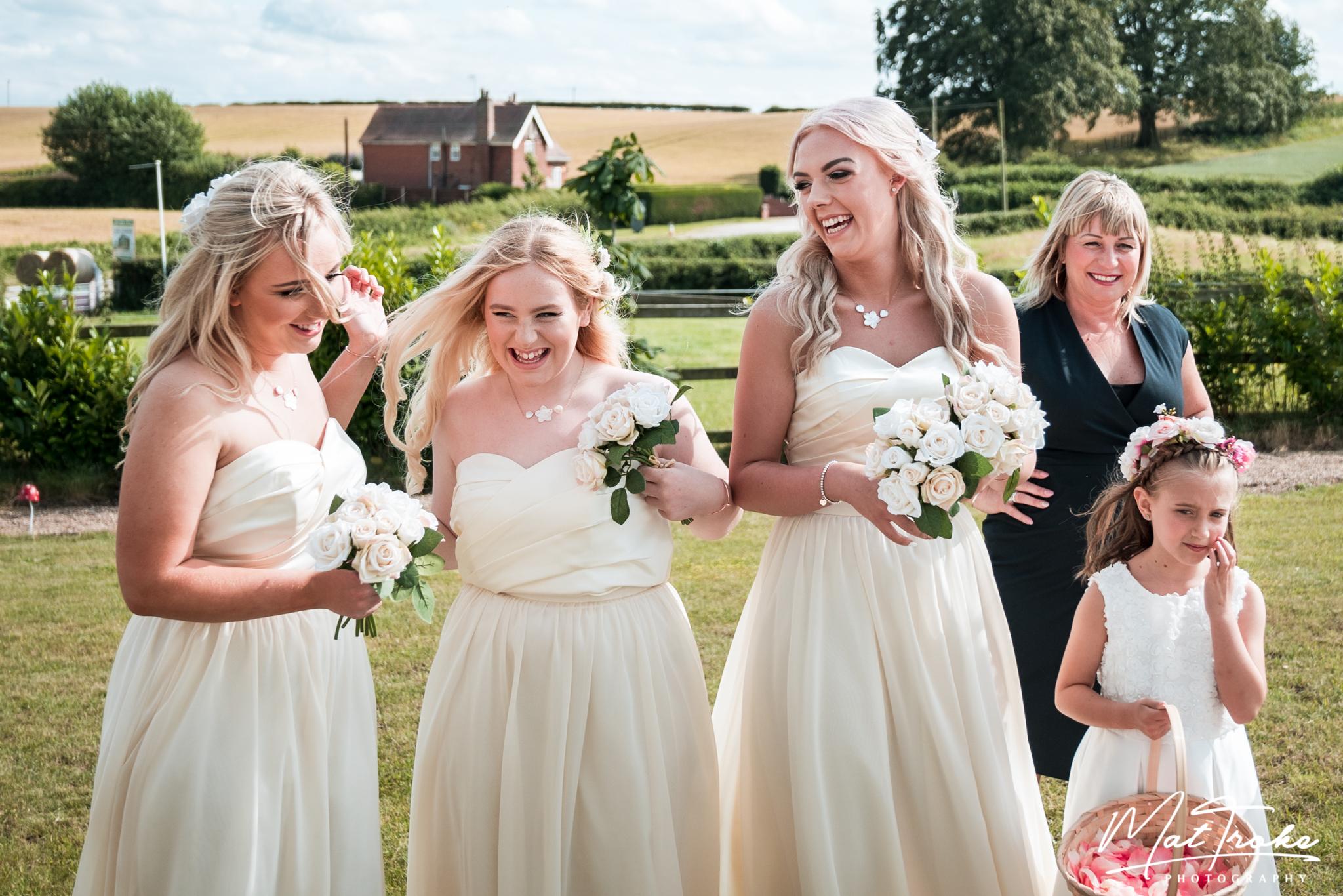 Fairview Farm Lodges Wedding, Nottingham