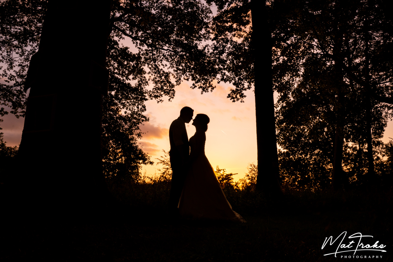 Kelham House and Country Manor Wedding Photography - Sunset